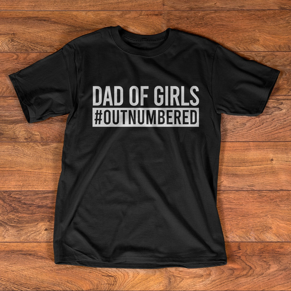 Dad of girls #outnumbered
