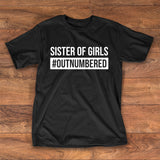 Sister of girls #outnumbered