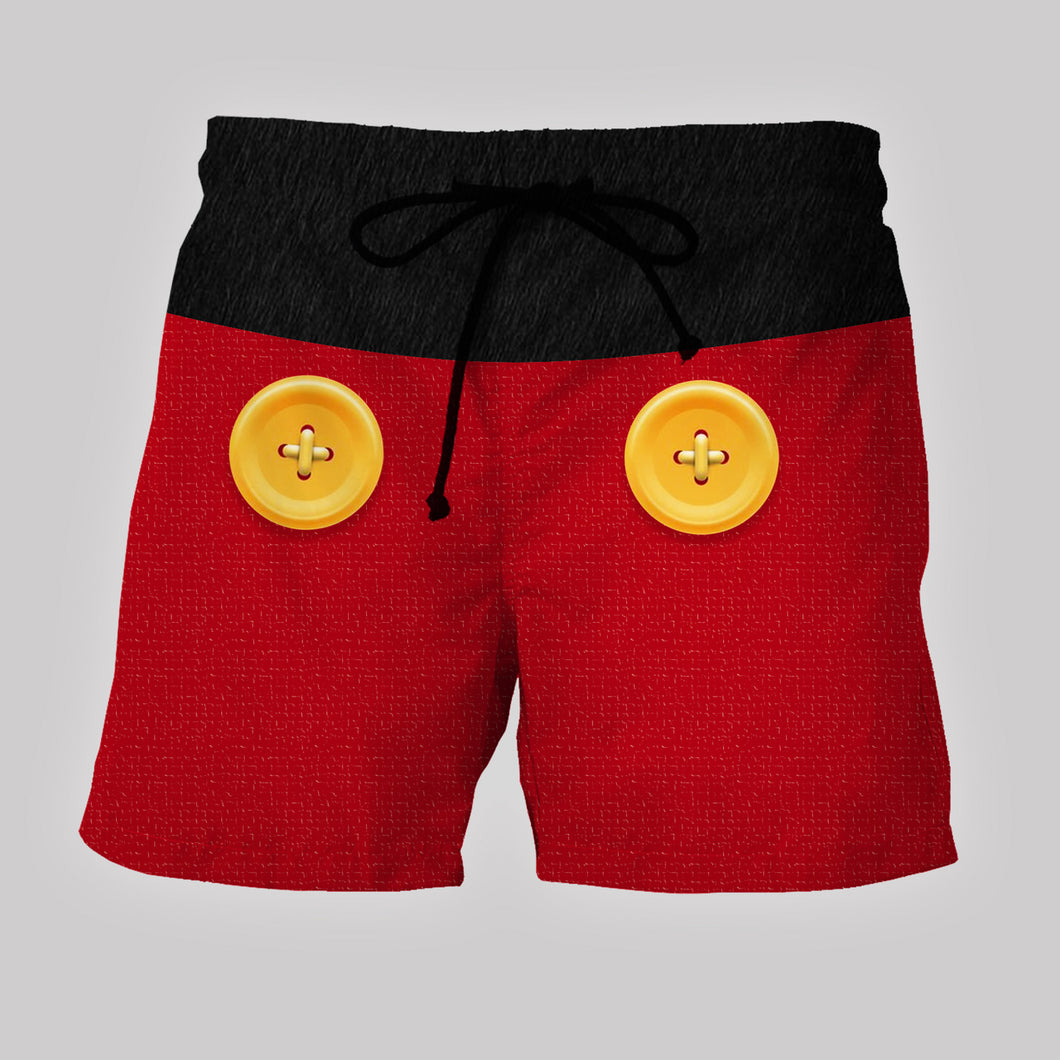 ABC - Custom Beach Shorts - Swim Trunks