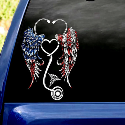 AMERICAN HOSPITALITY CAR STICKER