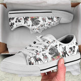 Staffordshire Bull Flower Low Top
