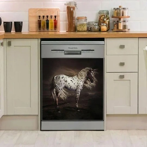 APPALOOSA HORSE DECOR KITCHEN DISHWASHER COVER