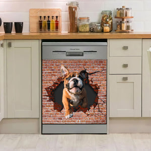 French Bulldog 3D Dishwasher Cover