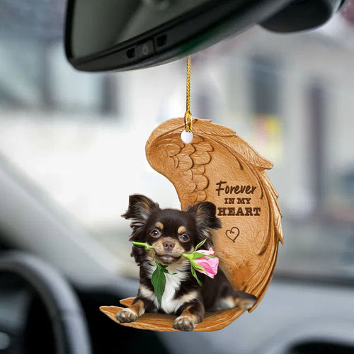 Chihuahua Forever Love Ornament