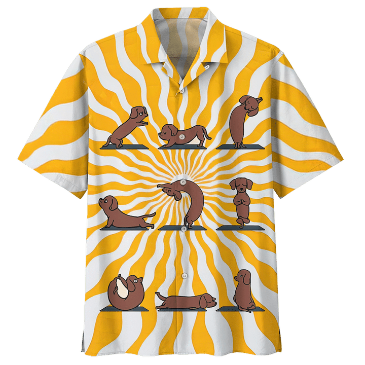 DACHSHUND HAWAIIAN SHIRT 8