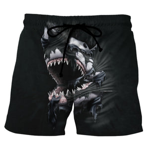 Funny Shark Lovers Beach Shorts 4