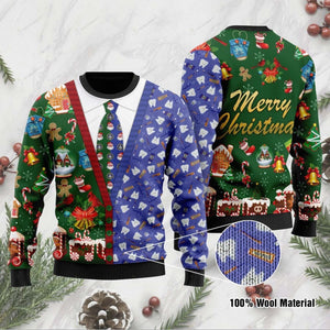 Engineer Merry Christmas Ugly Sweater At
