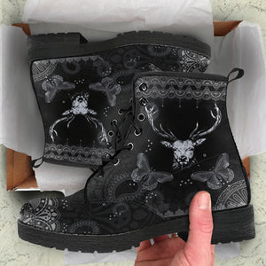 DEER LEATHER BOOTS