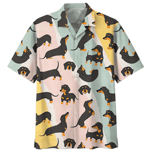 DACHSHUND HAWAIIAN SHIRT 3