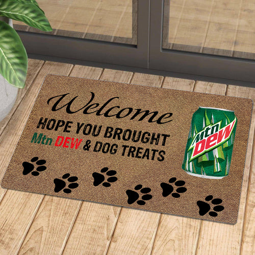 Hope You Brought Mtn Dew And Dog Treats