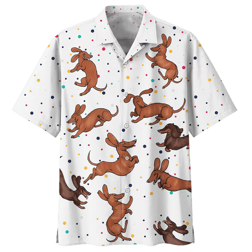DACHSHUND HAWAIIAN SHIRT 5