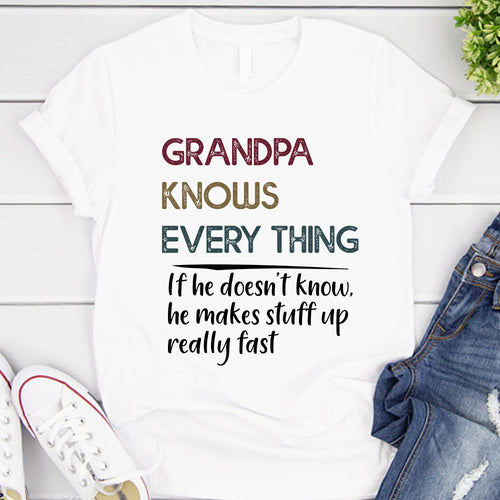 Grandpa Knows Every Thing