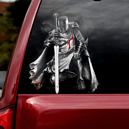 WARRIOR CAR STICKER 2