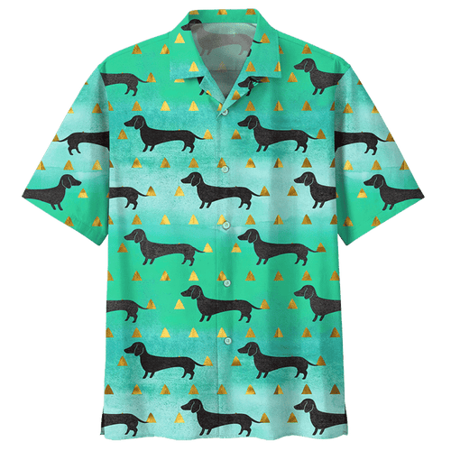 DACHSHUND HAWAIIAN SHIRT 4