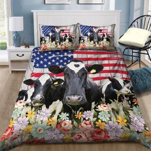 COW FLAG BEDDING SET TJJ102008