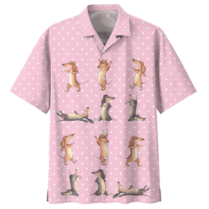 DACHSHUND HAWAIIAN SHIRT