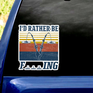 Funny Fishing Sticker 12