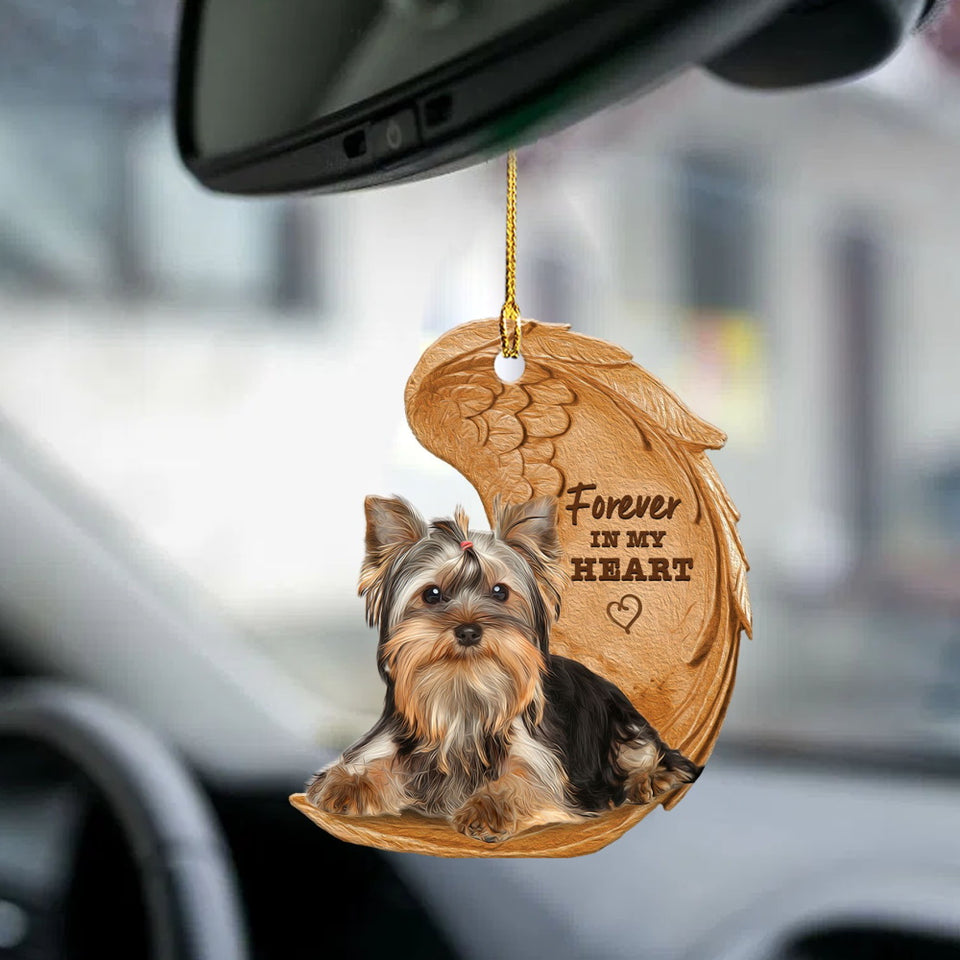 Yorkshire Terrier Forever Love Ornament