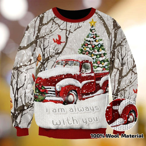 CHRISTMAS I AM ALWAYS WITH YOU XC02 SWEATER