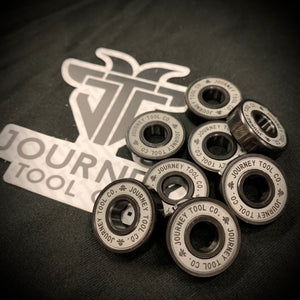 Pack of 8 Journey Tool Co. Bearings for Fidget Spinners or Skateboards
