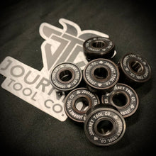 Load image into Gallery viewer, Pack of 8 Journey Tool Co. Bearings for Fidget Spinners or Skateboards