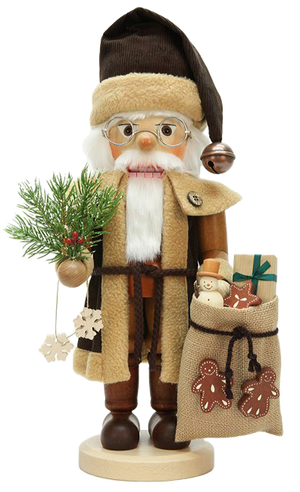 Christian Ulbricht Nutcracker - Santa with Bag - Natural