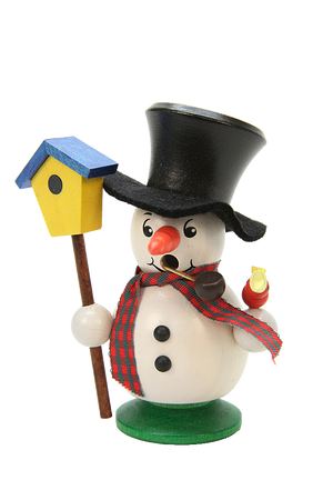 Christian Ulbricht Smoker - Snowman With Aviary