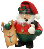 Christian Ulbricht Smoker - Santa with Sled