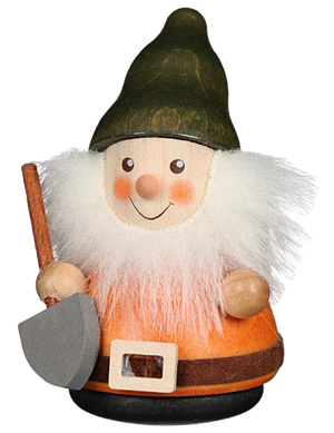 Christian Ulbricht Wooden Wobble Figure - Gnome with Shovel