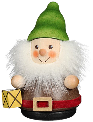 Christian Ulbricht Wooden Wobble Figure - Gnome with Lantern