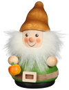 Christian Ulbricht Wooden Wobble Figure - Gnome with Apple