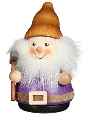 Christian Ulbricht Wooden Wobble Figure - Gnome with Hoe