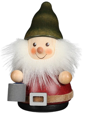 Christian Ulbricht Wooden Wobble Figure - Gnome with Bucket