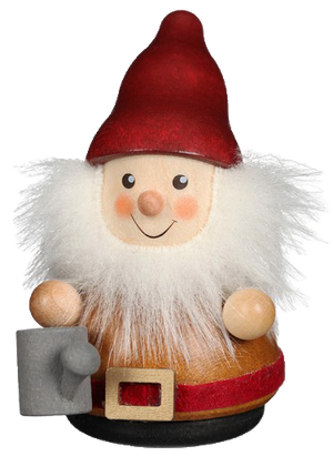 Christian Ulbricht Wooden Wobble Figure - Gnome with Watering Can