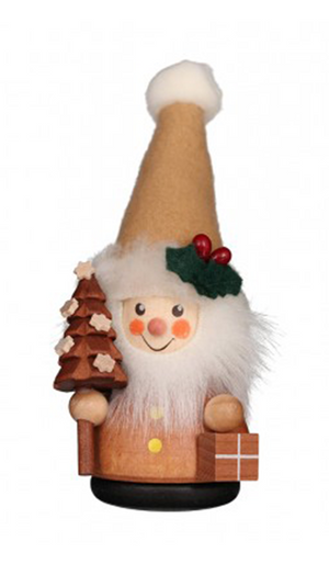 Christian Ulbricht Wooden Wobble Figure - Santa Claus Natural