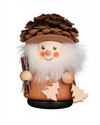 Christian Ulbricht Wooden Wobble Figure - Pine Cone Man - Natural