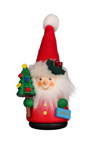 Christian Ulbricht Wooden Wobble Figure - Santa - Red