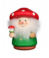 Christian Ulbricht Wooden Wobble Figure - Mushroom Man