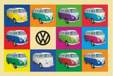 VW Collage - Decorative Metal Sign