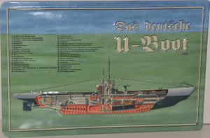Deutsches U-Boot - Vintage Style Metal Advertising Sign