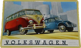 Bulli & Käfer - Vintage Style Metal Advertising Sign