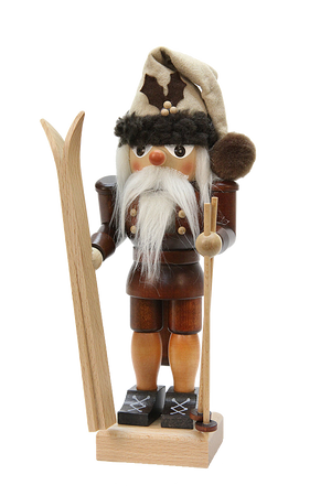 Christian Ulbricht Nutcracker - Skier Small Natural
