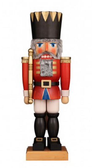 Christian Ulbricht Nutcracker - Red King - Extra Large
