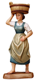 "ANRI Nativity - Kuolt 6"" - Shepherdess with Basin"