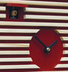 Cuckoo Clock - 8-Day Modern in Bauhaus Design Red - Romba