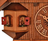 Bay Window next to the Dial overlooking Market Place on a Schneider Black Forest Chalet Cuckoo Clock