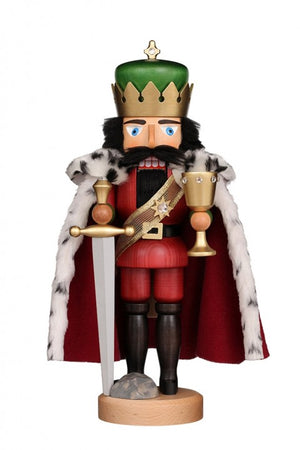 Christian Ulbricht Nutcracker - King Arthur Glazed