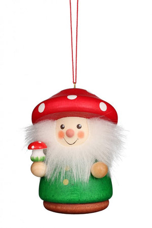 Christian Ulbricht Wooden Wobble Figure - Mushroom Man (Ornament)