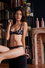 Implicite Midnight Bra