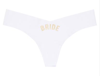 Commando Bridal Thong